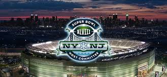 The 48th Suiper Bowl in New Jersey.