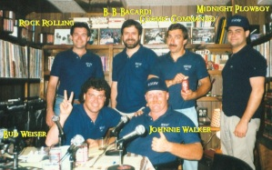 WTIT Staff 1988 with text