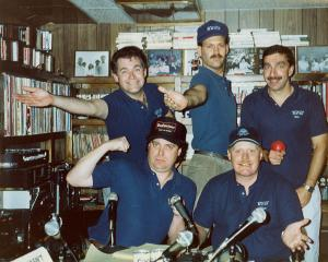 WTIT Staff 1989
