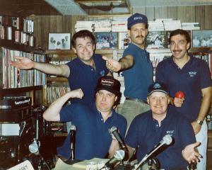 WTIT Staff 1989