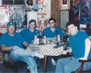 WTIT Staff 1990