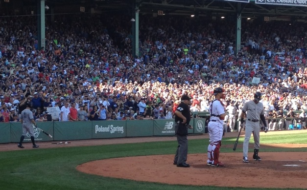 Derek Jeter Fenway Last Game 28 Sept 2014 3