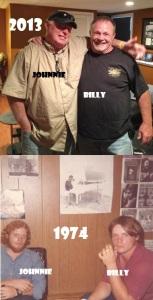Johnnie & Billy 2013-1974
