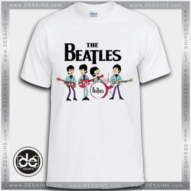 Best-Tee-Shirt-The-Beatles-Cartoon-Custom-Tshirt-Review