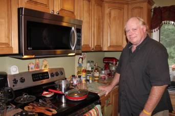 Bill as Chef